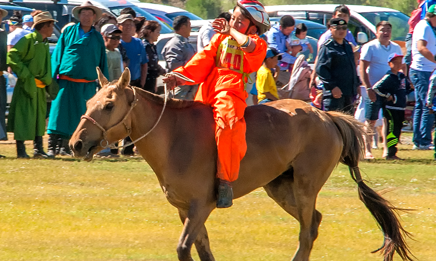 Naadam by nomads