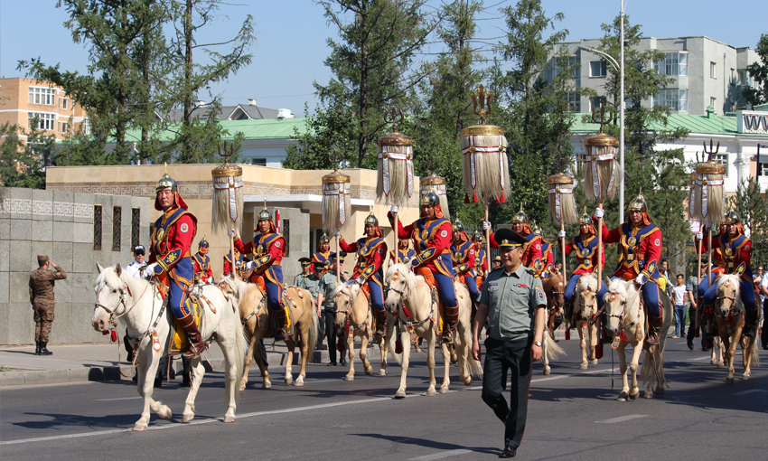 Naadam by Mongols